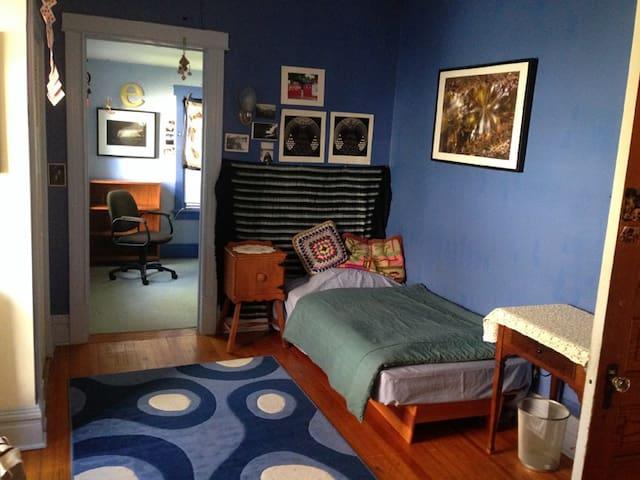 Bedroom & study in beautiful home