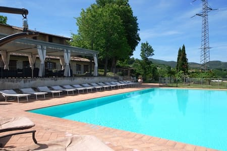 Spoleto by the pool (Apt. 5)