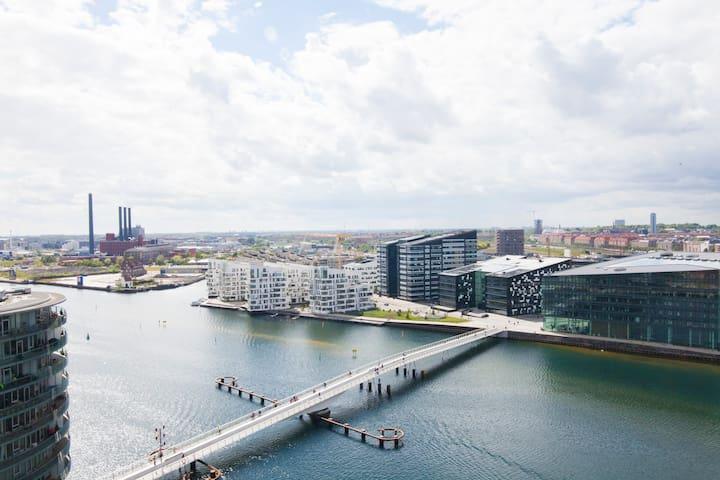 Rooftop terrasse w. great view - København - Lejlighed