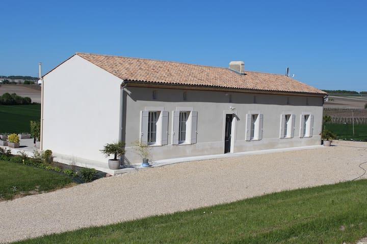 Gîte rural de Trémont - Saint-Bonnet-sur-Gironde - Haus