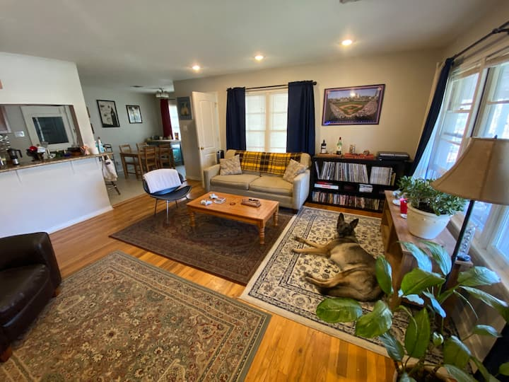 Cozy Room in 50s Bungalow (North Central Austin)