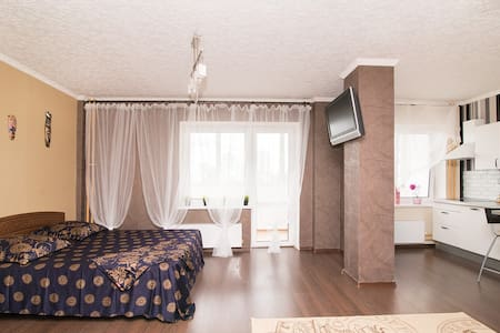 Очень просторная квартира-студия. - Yekaterinburg - Apartemen