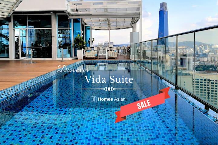 V165 Deluxe 2 room suite KLCC, Bukit Bintang