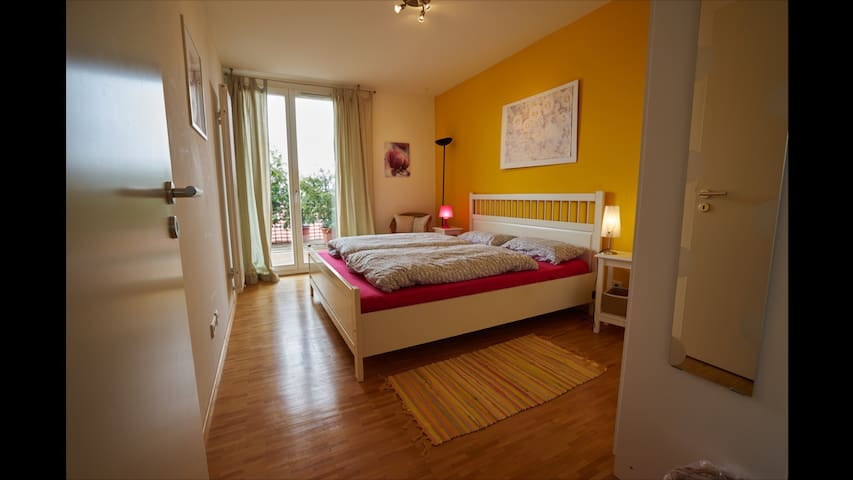 Ruhiges Doppelzimmer - Freiburg im Breisgau - Lägenhet