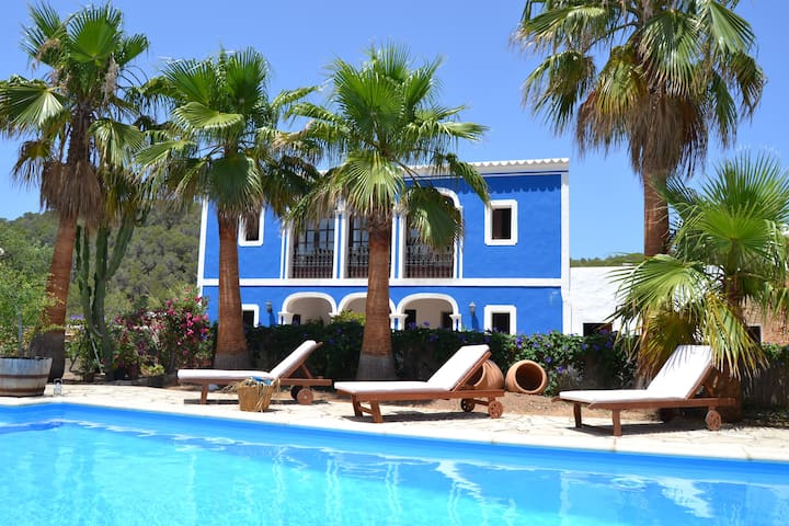 AUTHENTIC VILLA IBIZA STYLE, 10 MINUTES FROM BEACH - Sant Joan de Labritja - Vila