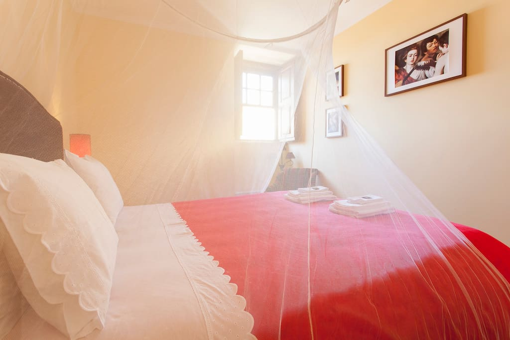 Double room with a doublebed 160x200
