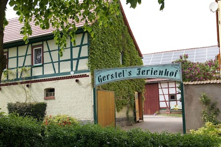 Gerstels-Ferienhof am Hainich - Hörselberg-Hainich - Appartement