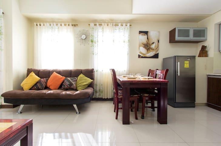 Ortigas Center - Sonata - 1 bedroom near Shangrila - Mandaluyong - Osakehuoneisto