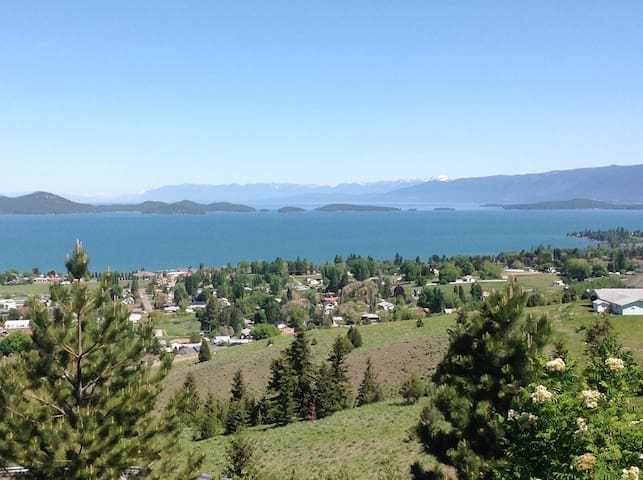 View Beautiful Flathead Lake - Polson - Dům
