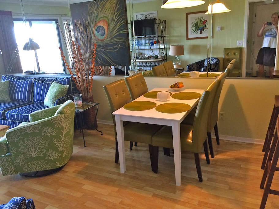 New Dining Room table with 6 chairs