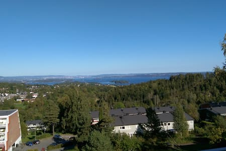 Oslofjord panorama, close nature. - Asker - Lejlighed