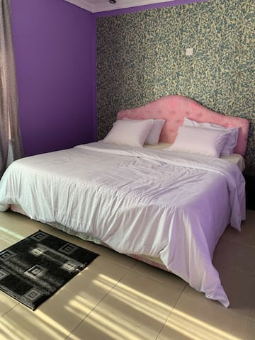 Fully acclimatized 2 bedrooms with super king size bed each