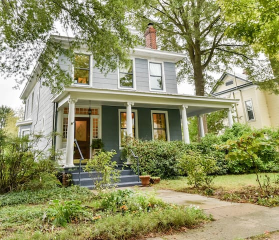 Historic Home Near VCU & Downtown - Richmond