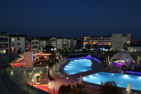 Türkiye de harika bir termalde  - Lejlighed