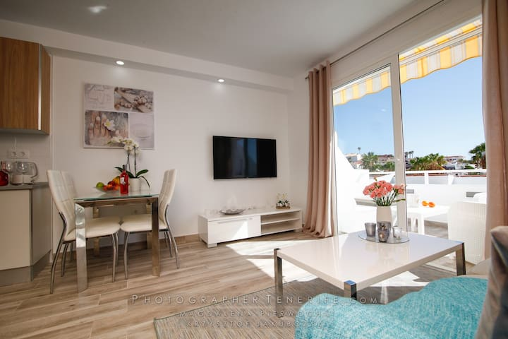Ocean View Apartments with terrace, Costa Adeje