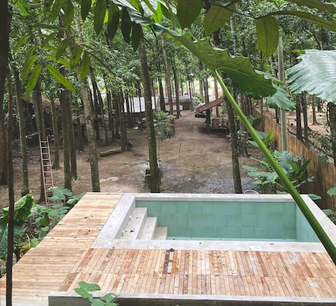Exclusive GLAMPING experience with SWIMMING POOL!