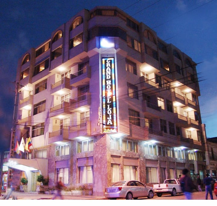 GRAND HOTEL LOJA Excelencia en hotel