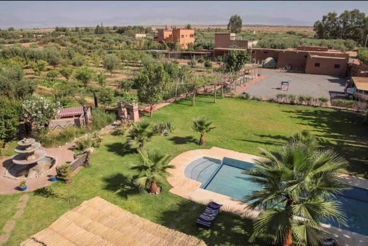 Villa amazigh berbère