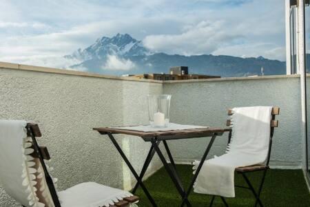 Design Hotel Lucerne city - mountain Pilatus view - Luzern