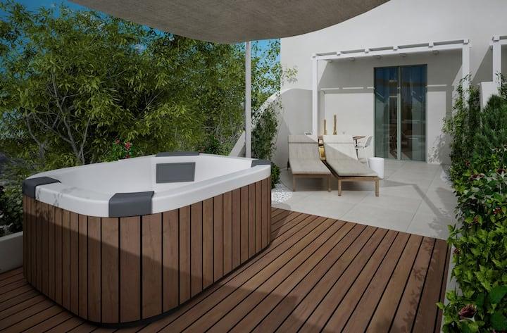Two Bedroom Suite Garden View w. Outdoor Hot Tub