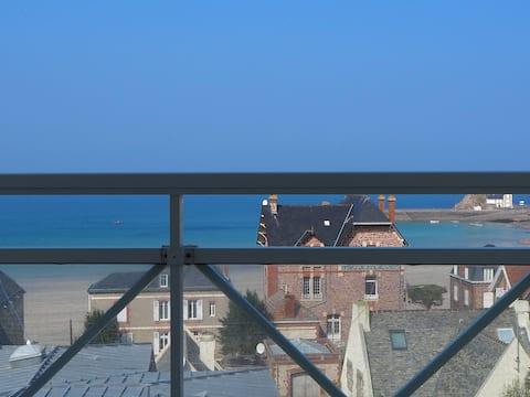 Bel appartement vue sur mer 50m2 de type F3