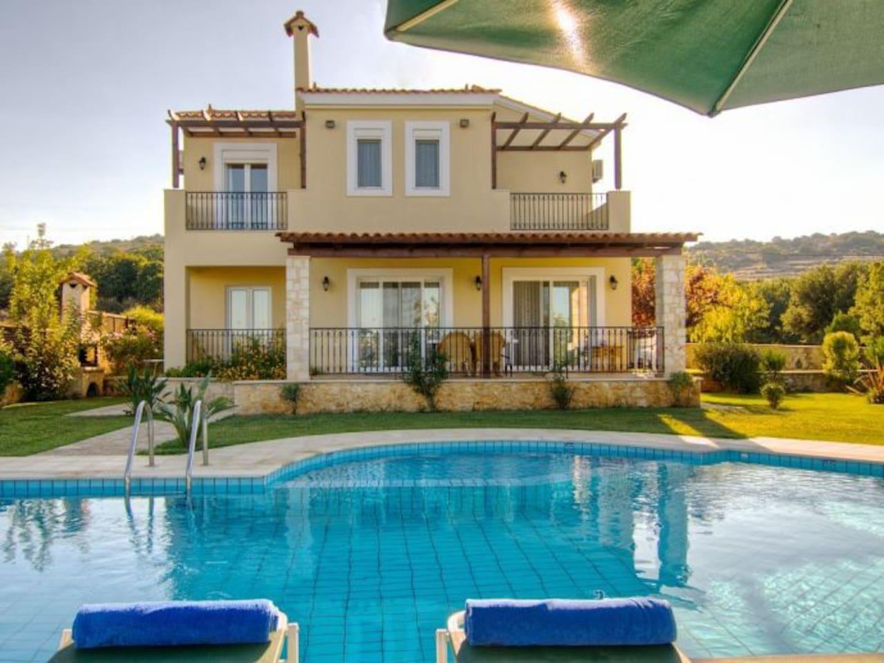 Villa Delia - Gerani, Rethymno, Crete