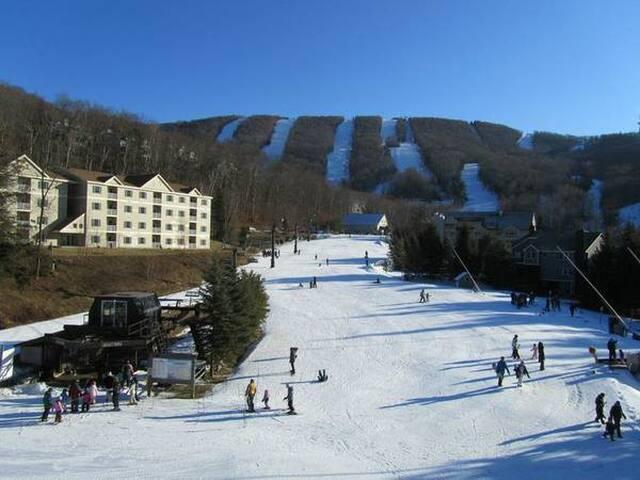 Hancock, Ma, Jiminy Peak Ski-in Ski-out Rentals - Hancock