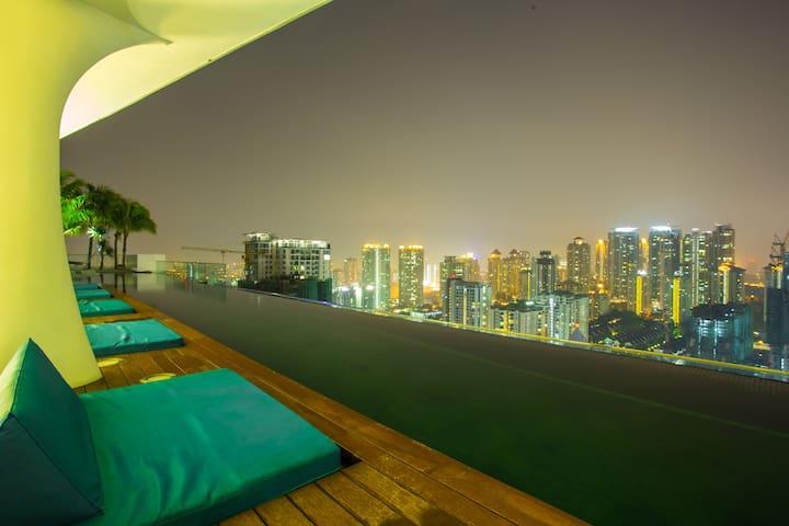 VERVE Suites - Deluxe Suite #3 - Kuala Lumpur - Apartment