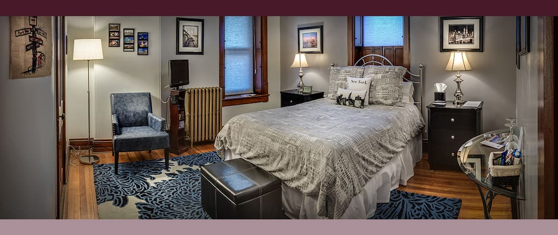 City Chic in a Victorian Mansion - Bellefonte - Bed & Breakfast