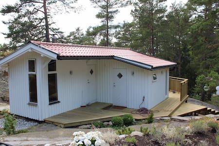 Landscaped cottage in the Stockholm archipelago