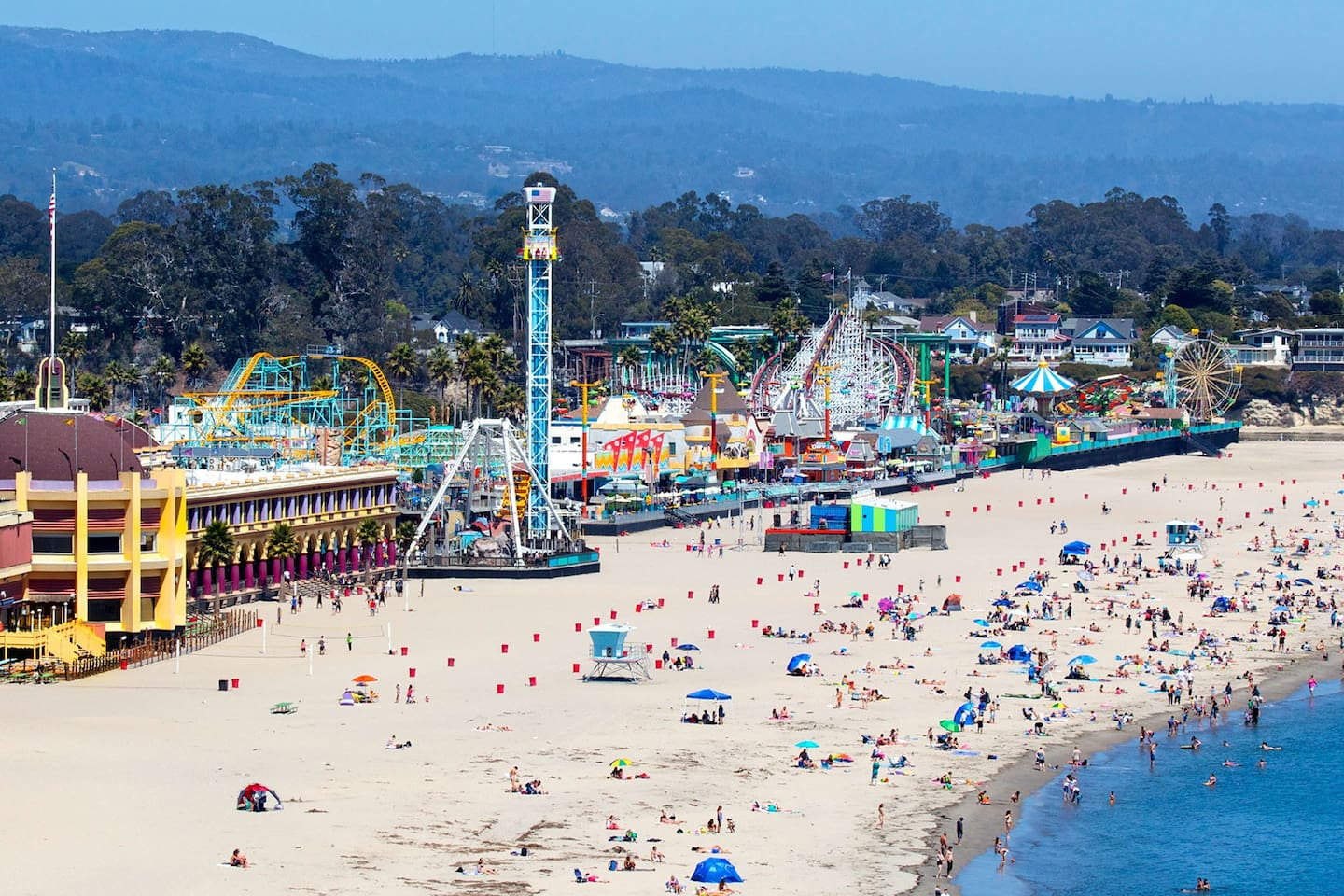 The Santa Cruz Beach Boardwalk is about 25 mins away and a great place to spend the day!