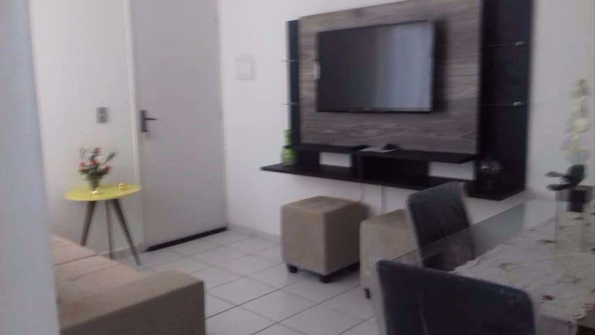 Apartamento aconchegante para as festas juninas