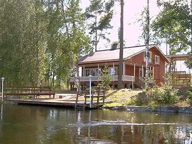 Cottage by the Pernoo rapids