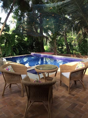 GOA luxury Villa with pool @ south Goa - Utorda - วิลล่า