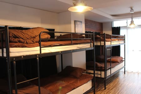 mixed dorm 405-2 bottom ✧NO cleanig fee!✧ - fukuoka-shi
