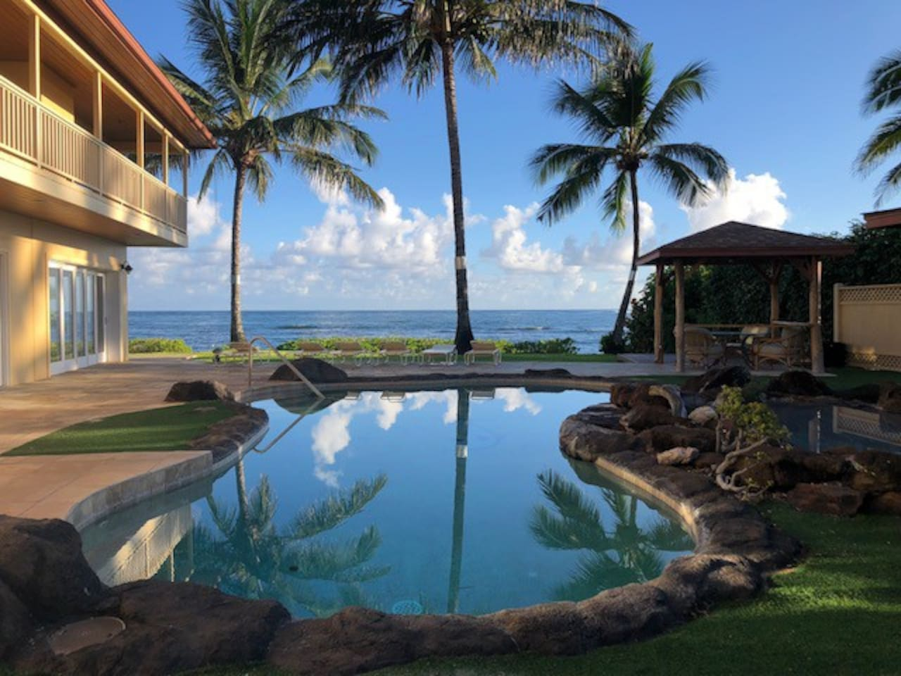 Private Ocean Front Estate with Pool to Ocean in just a few steps