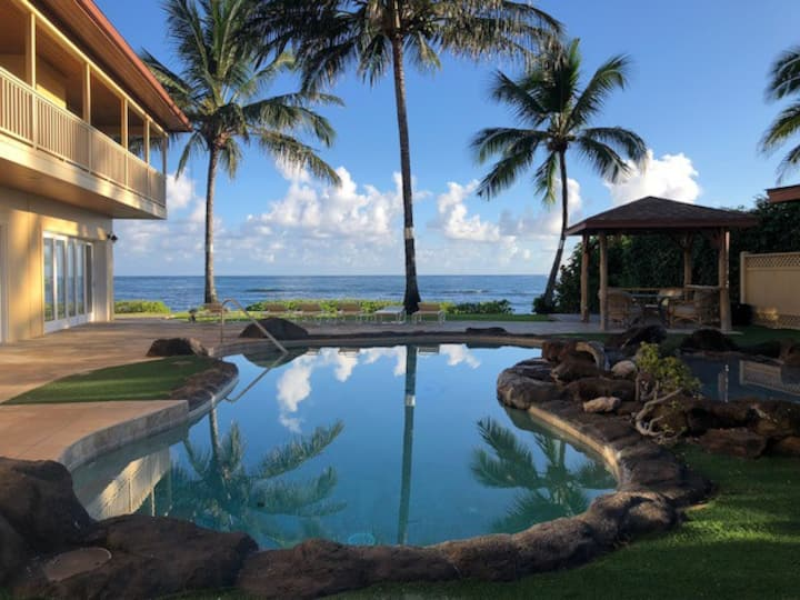 Oahu North Shore Ocean Front Estate