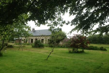 Longère normande authentique - Saint-Germain-la-Campagne - Rumah