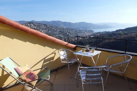 Typical house near Portofino - San Lorenzo della Costa - Apartmen