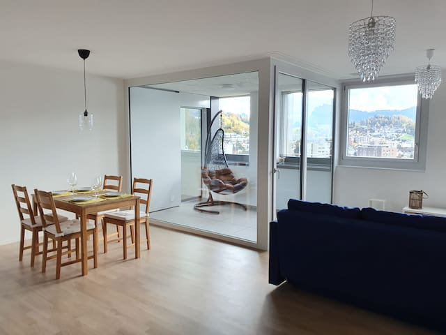 Cosy apartment close to the city center    Luxern