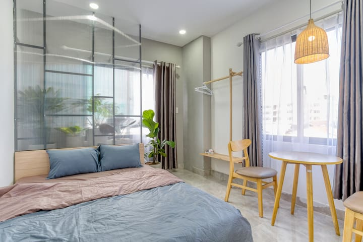 ★ 1 BR APT in DOWNTOWN☀ 5 mins WALK to HAN Market★