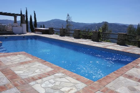 Large Country Villa with panoramic views and pool - Viñuela - Huis