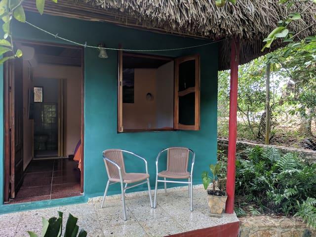 Casa Estudio de Arte Habitación Verde