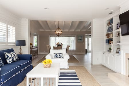 Luxury coastal style home minutes from the beach