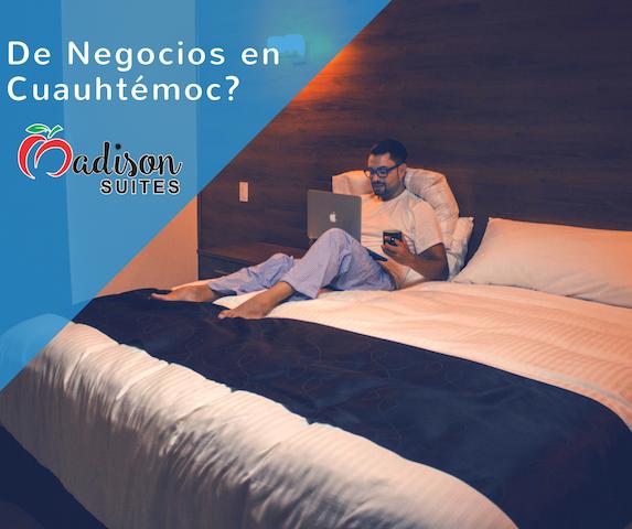 Madison Suites -Hotel Boutique de lujo - Ciudad Cuauhtémoc - Condominium