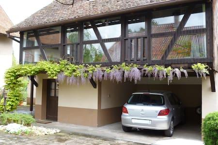 Studio de vacances pour 2 personnes - Muttersholtz - Apartemen