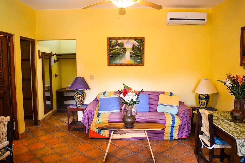 Gardenia two Bedroom apartment. Living room.
