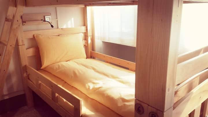 B 放花蓮背包客棧 Fun Hualien Hostel-10人混合房
