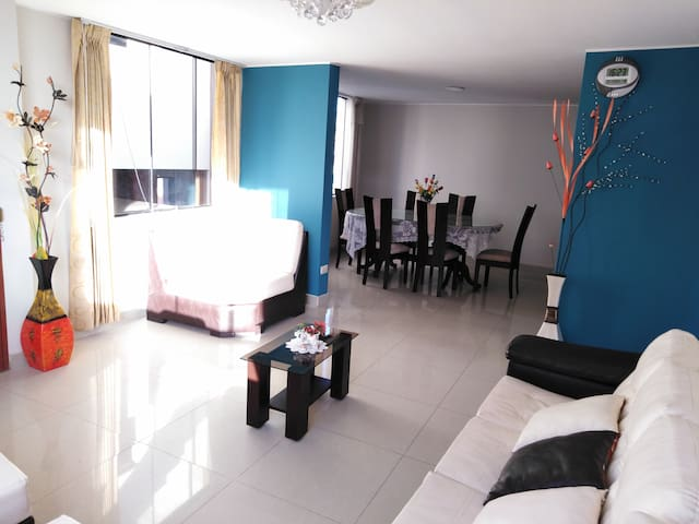Comfortable and spacious apartments in premiere