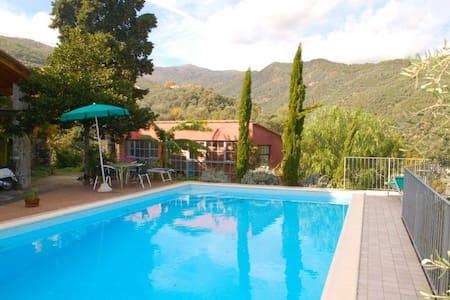 alloggio con piscina - Dolcedo - Leilighet